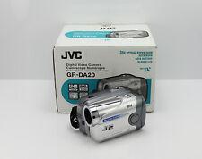 NEW JVC GR-DA20EK CAMCORDER BOXED MINI DV DIGITAL TAPE VIDEO CAMERA DA20