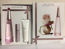 L'EAU D'ISSEY FLORALE BY ISSEY MIYAKE 3 PCS GIFT SET 3.0 oz / 90 ml EDT Women