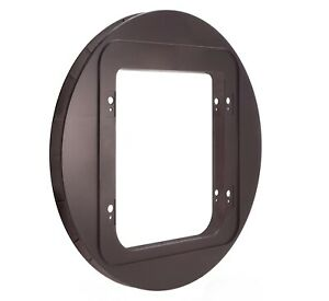 SureFlap Pet Door Mounting Adaptor Brown - For Large Cats, Small Dogs
