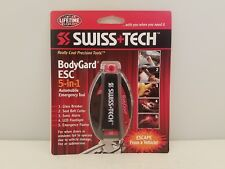 Swiss Tech BodyGard ESC 5-in-1 Automobile Emergency Tool | BGCSBK-2 | NEW