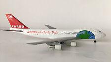 "Herpa 1/400 Boeing 747-200 Northwest Cargo ""Investing in Pacific Trade"" neu"