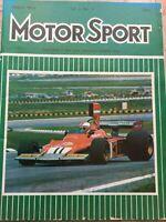 Motor Sport Magazine - March 1974 - Ford Capri, Brazilian GP, Leyland Eight