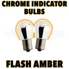 2x Chrome Indicator Bulbs For Subaru Impreza 92->>00  s