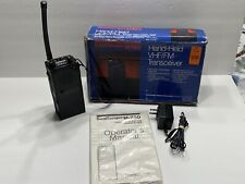 Sea Ranger M780 Hand-Held Vhf/Fm Transceiver Manual Ac Adapter ~ Tested Works