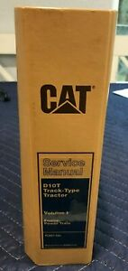 CATERPILLAR D10T TYPE TRACTOR SERVICE MANUAL VOL 1 RJG1-UP
