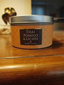 NEW DW Home candle Exotic Aroma Thai Pomelo and Lichee 5.14oz Tin