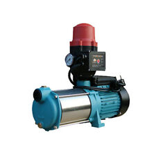 Wasserpumpe 1100W 95l/min Jetpumpe Gartenpumpe Hauswasserwerk Kreiselpumpe B