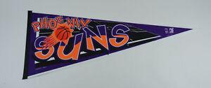 """Vintage 90's Phoenix Suns Basketball 30"""" Pennant (Purple)"""