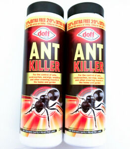 2 x Doff ANT KILLER POWDER Cockroaches, Earwigs, Woodlice, Insects FAST SHIPPING