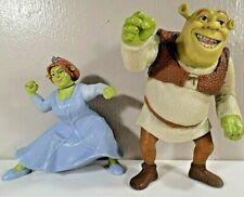 Shrek & Fiona Toy Figurines~Ogres