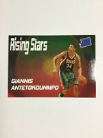 Giannis Antetokounmpo Rated Rookie RC Rising Stars Aceo Custom Basketball Card