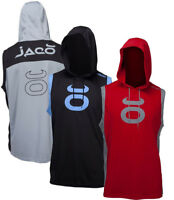 Jaco Sleeveless Hoodie. Hooded Workout Gym Train Fitness Hoody Crossfit MMA UFC