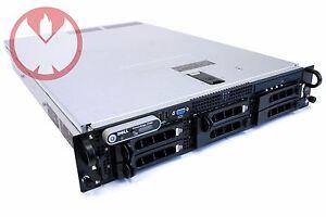 Dell PowerEdge 2950 Server Dual Quad-Core Xeon 3.0GHz 32GB RAM MS Server 2012 R2