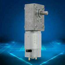 Electric 12v Gear Motor Reversible Low Speed 510rpm 8mm Out Shaft High Torque