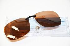 Sonnenclip für Metall-Brillen Polarisierend versch.Farben Sonnenbrille Neu