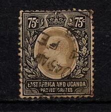 (YYAC 153) British East Africa 1912 USED Protectorate KUT MULTI CROWN CA Uganda