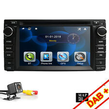 "6.2"" Car DVD CD Radio GPS Nav FM For Toyota Corolla Hilux Prado Stereo Head Unit"
