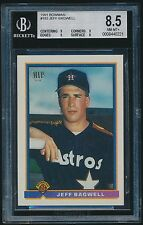 1991 Bowman rookie #183 Jeff Bagwell rc BGS 8.5