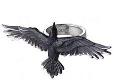 Alchemy Gothic Black Consort Pewter Ring T