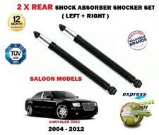 FOR CHRYSLER 300C SALOON 2005-> 2x REAR LEFT + RIGHT SHOCK ABSORBER SHOCKERS SET