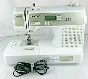 Brother SQ9185 Computerized Sewing/Quilting Machine, LCD Display WORKS  NO PEDAL
