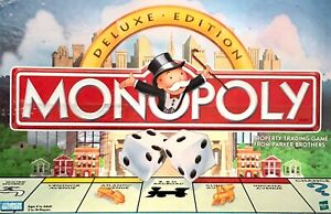 Monopoly Deluxe Edition Replacement Pieces - Pawns, Cards, Money & More You Pick