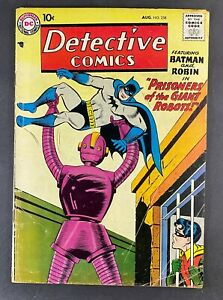 Detective Comics (1937) #258 VG (4.0) Robot Cover Martian Manhunter Moldoff Art