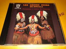 LES GENIES NOIRS de DOUALA CD percussion & dances from CAMEROON (arion)