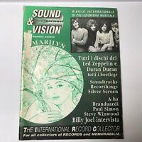 Sound & Vision - RARE Italian Magazine - Duran Duran/Led Zeppelin Discography 90