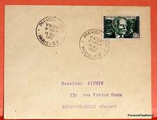 Yt 890  FRANCE PREMIER JOUR FDC VINCENT D INDY     PARIS  1951