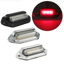 Red 6 LED License Plate Tag Interior Step Light Car Boat RV Truck Trailer Camper