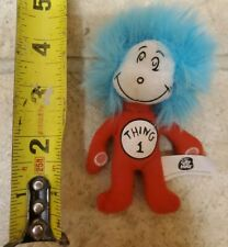 Both Sealed In Bag Dr Seuss Thing 1 /& Thing 2  Soft Toy