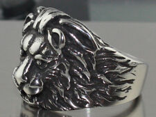 Lion Stainless Steel comfort fit ring sizes 10