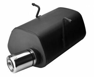 Sportauspuff für Mini ONE + Cooper R50 R53 80mm mit Absorber