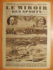Miroir Sports 444-21/08/1928-Natation-Vandeplancke & Ledoux,vain traversée Paris