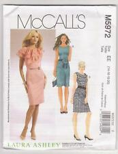McCall's Sewing Pattern M5972 Laura Ashley Dresses Sz 14-20