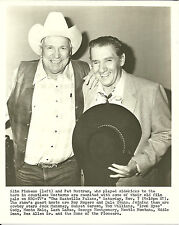 Slim Pickens and Pat Buttram on The Nashville Palace Original Press Photo