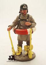 Figurine Collection Del Prado Pompier Allemand avec bouée Berlin Allemagne 1900