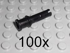 LEGO Technic - 100x Pin mit Stopper SCHWARZ Pins Long Stop Bush Verbinder 32054