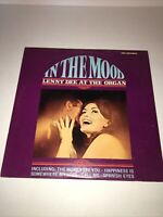 In The Mood Lenny Dee At The Organ Original Vinyl Record LP L-717 Signed