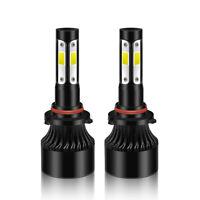 Safego 2x H4 H7 H11 LED scheinwerfer Umbausatz Birnen AutoLicht 6500K 60W Lampe