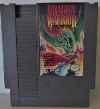 Nintendo Nes Dragon Warrior 1985 No Box Tested Good Condition