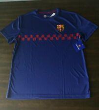 Fc Barcelona Mens Soccer Jersey Training Navy Blue T Shirt By HKY fcb