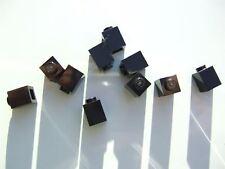 10 x Lego Black square bricks (size 1x1x1) – 300526 (Parts & Pieces)