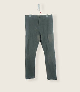 NWT $98 Banana Republic Mens 33x34 Fulton Skinny Fit Gray Chino Pants $89.50