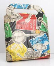 "Vintage/Retro 1950's-1960s 7"" 45s RPM Single Record Vinyl Jazz Carry Case Bag"
