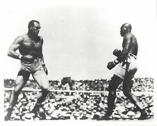 JACK JOHNSON BEATS JIM JEFFRIES PHOTO BOXING PICTURE