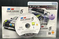 """PS 3 PlayStation 3 juego """"gran turismo 5-Academy Edition"""" completamente"""