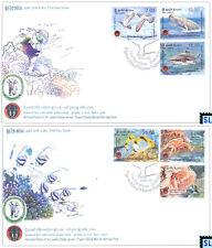 Sri Lanka Stamps 2014, Pigeon Island National Park, Fish, Bird, Shark Whale, FDC