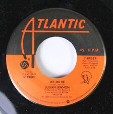 Rock 45 Julian Lennon - Let Me Be / Too Late For Goodbyes On Atlantic Recording
